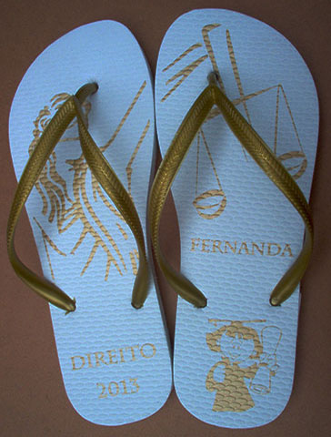 Chinelo para formatura - FOR05
