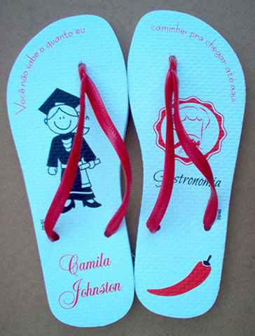 Chinelo para formatura - FOR10