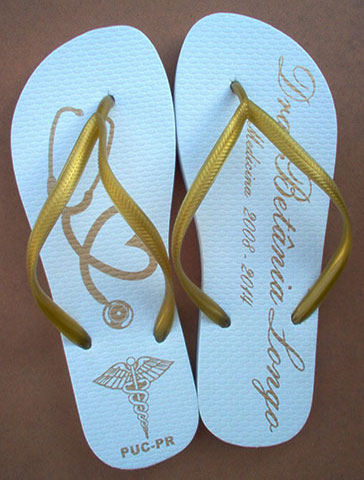 Chinelo para formatura - FOR12
